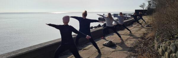 Yoga krigerstilling