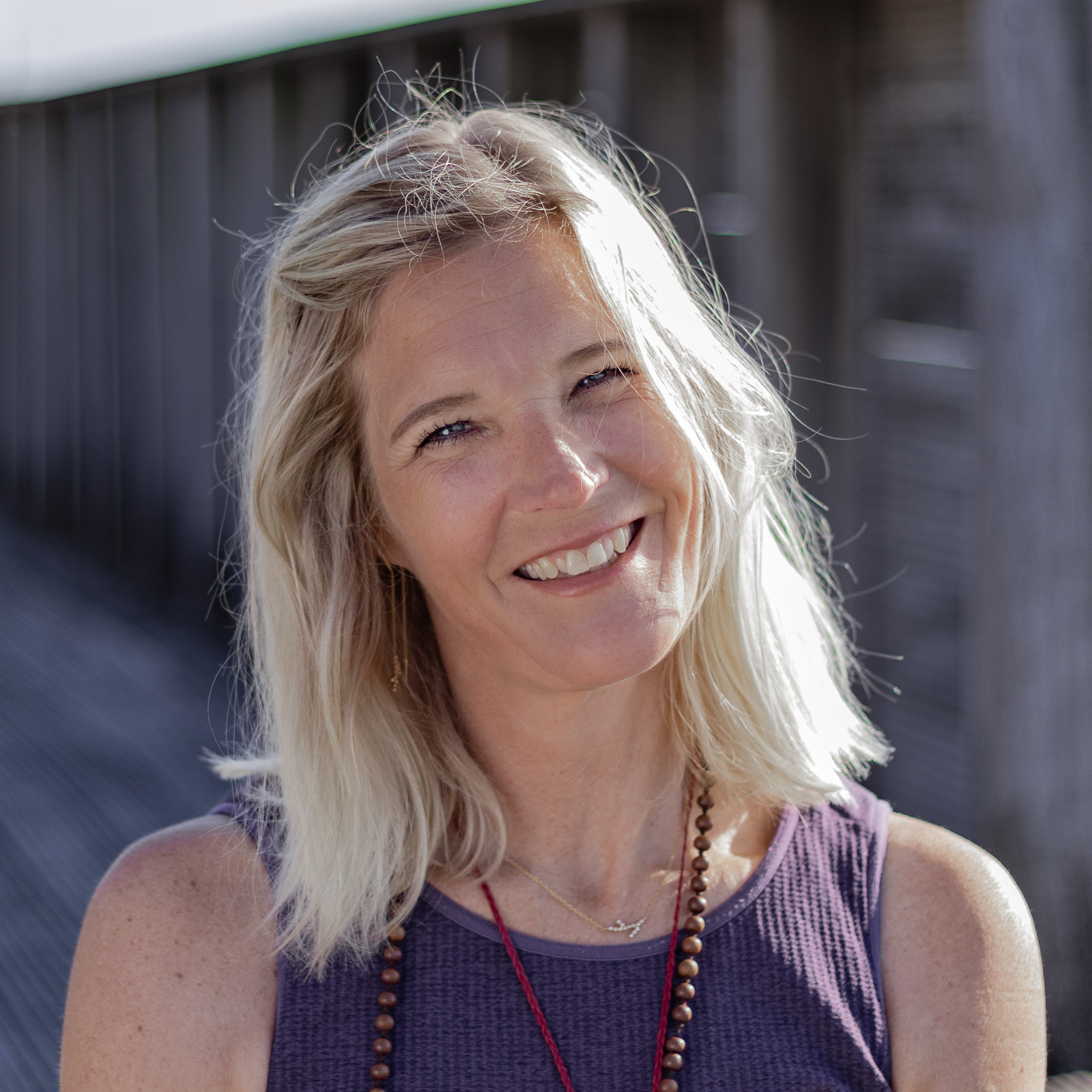 Mindfulness coach Louise Juel Severin